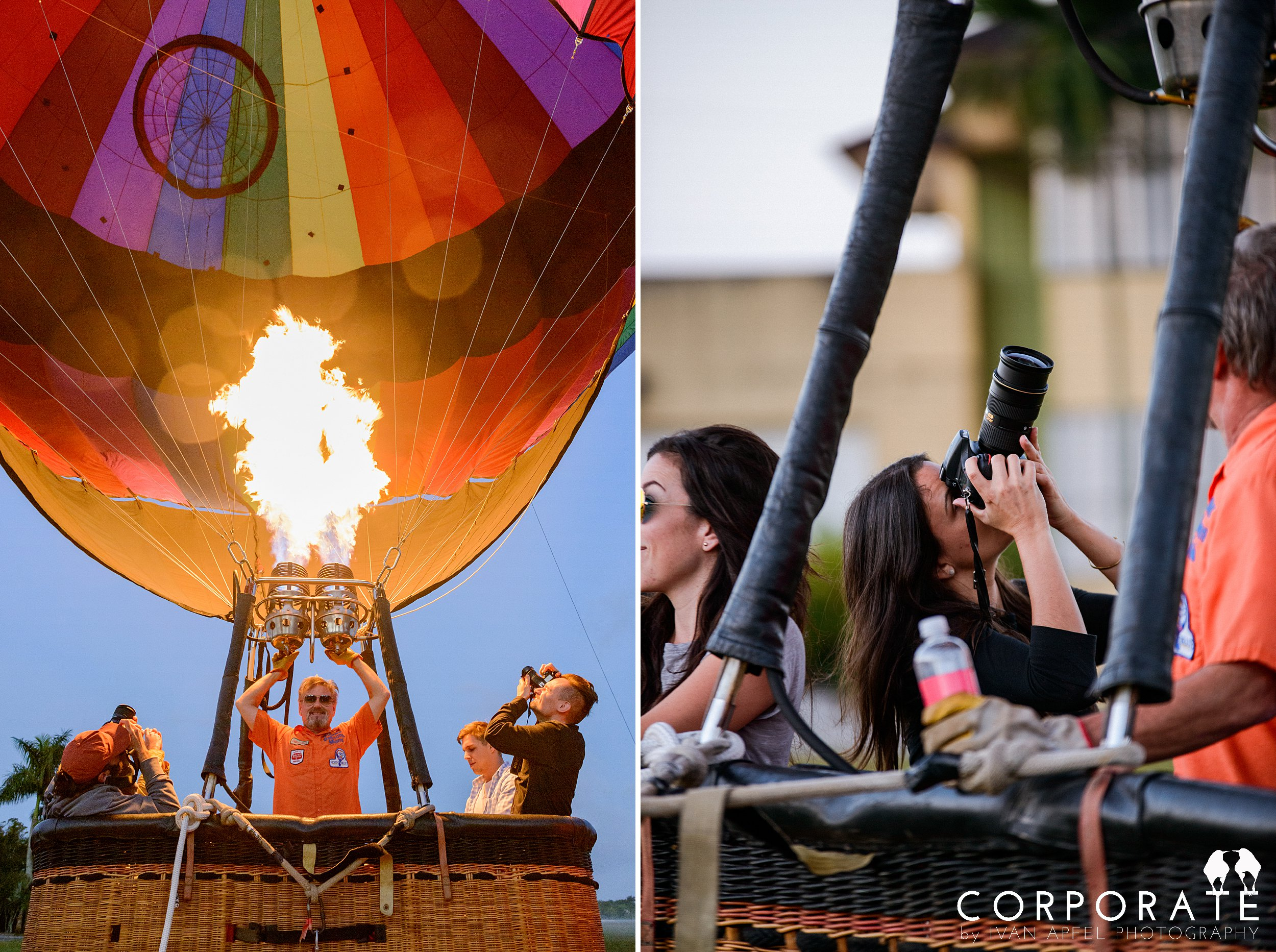 Miami Corporate Experience Photographer Tazo Tea Hot Air Balloon Influencers_0009.jpg