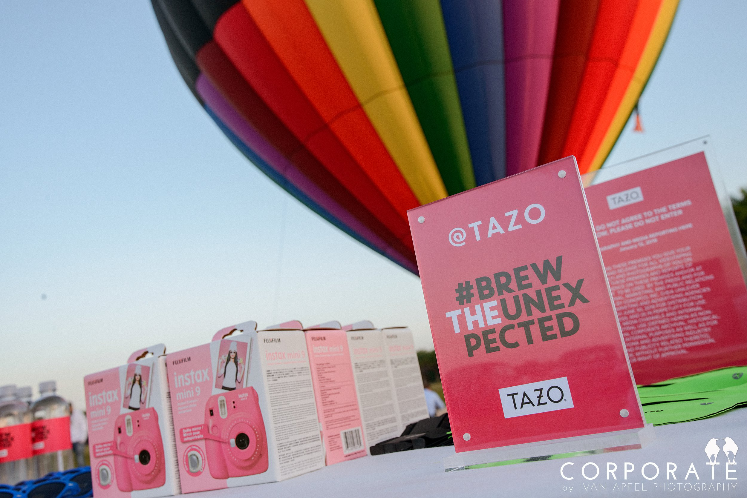 Miami Corporate Experience Photographer Tazo Tea Hot Air Balloon Influencers_0019.jpg