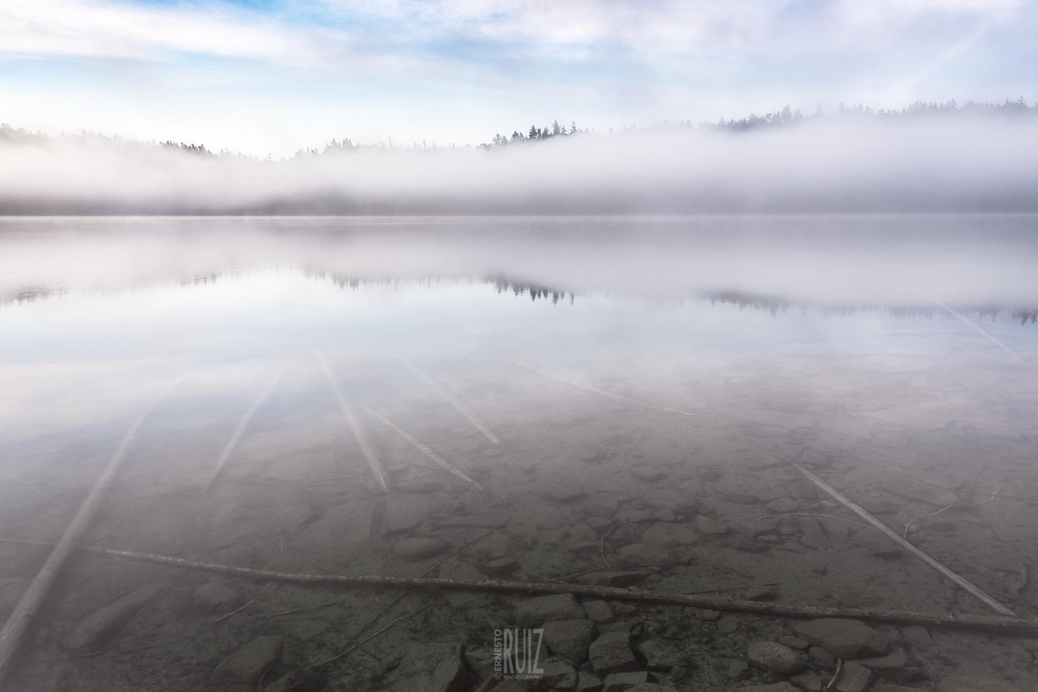 BWCAW Foggy Dawn / Ernesto Ruiz