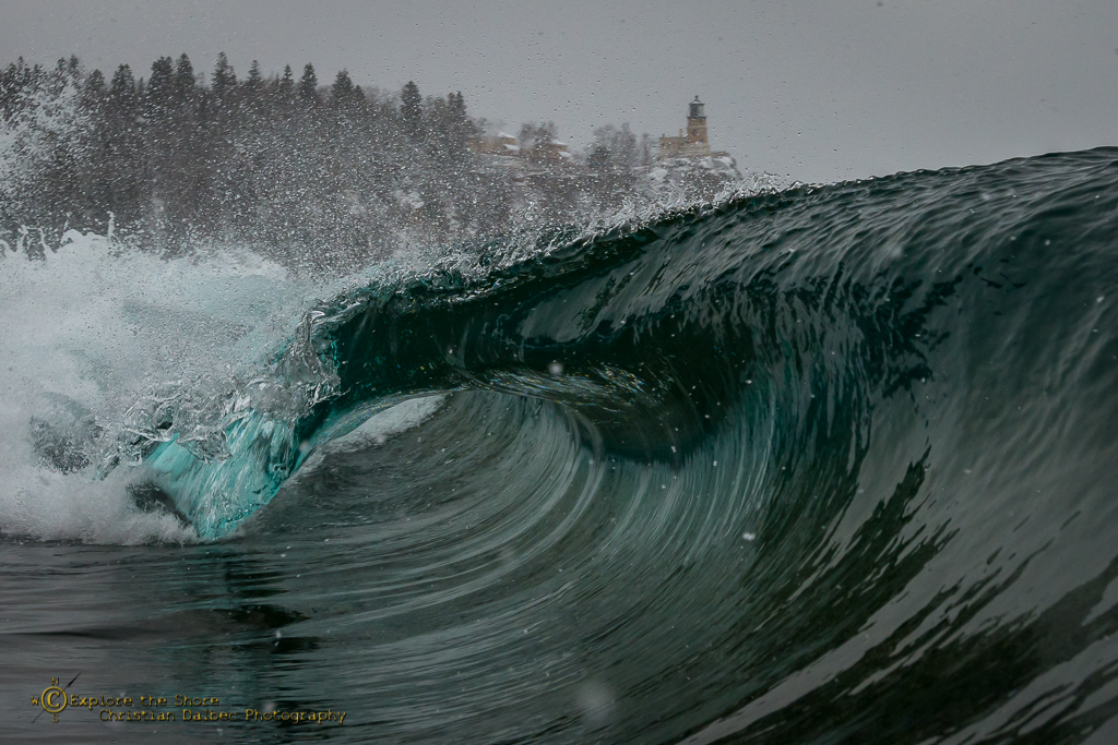 Split Rock Wave / Christian Dalbec