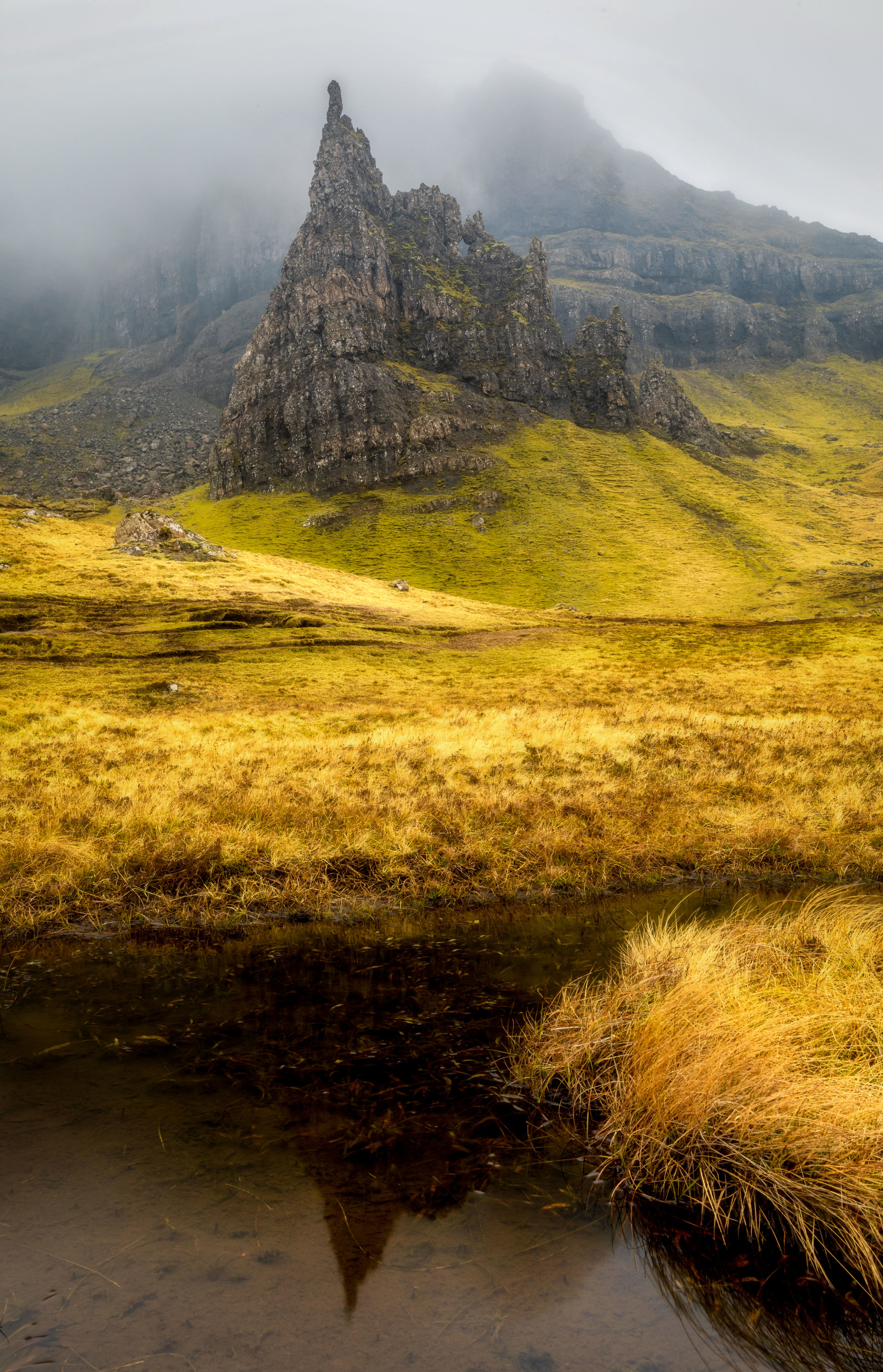 Storr Reflection / Beth Young