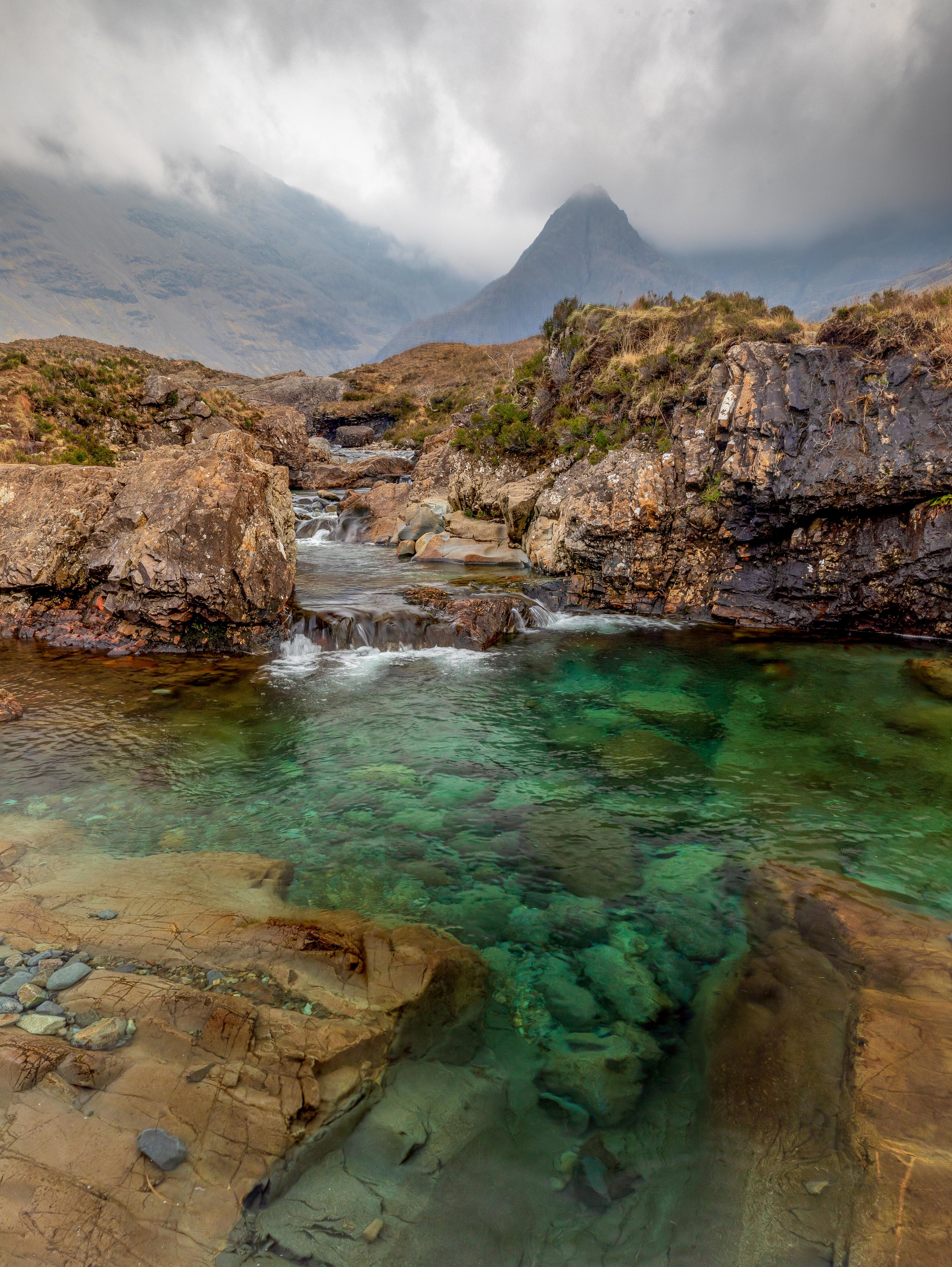 Fairy Pools Emerald Water / Beth Young