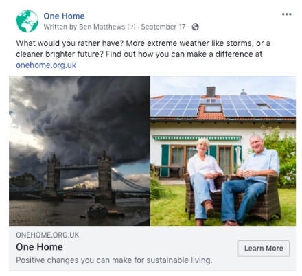 One Home Facebook Ad.png
