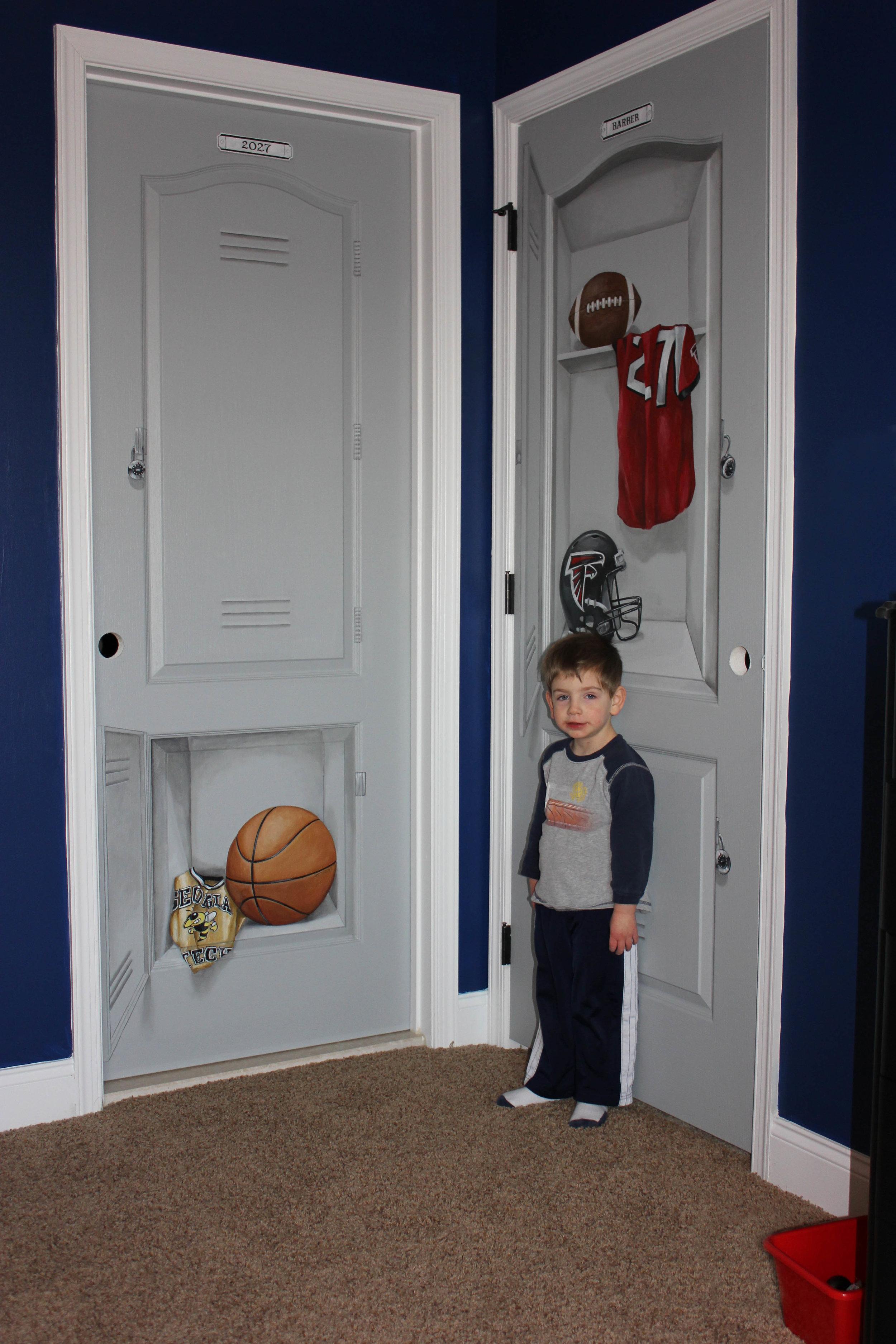 jeremy with lockers