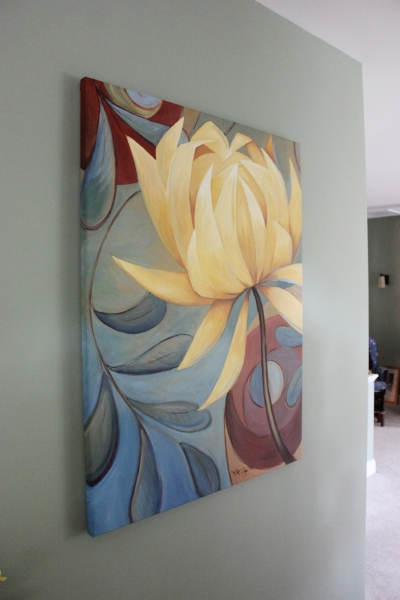 Gallery wrapped canvas. Private Commission