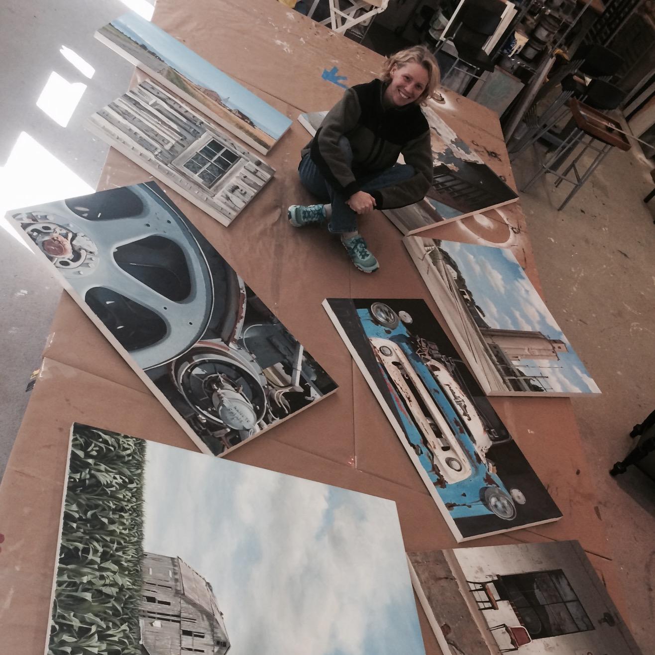 feeling accomplished solo show lenehan studios fine art painting baltimore maryland.jpeg