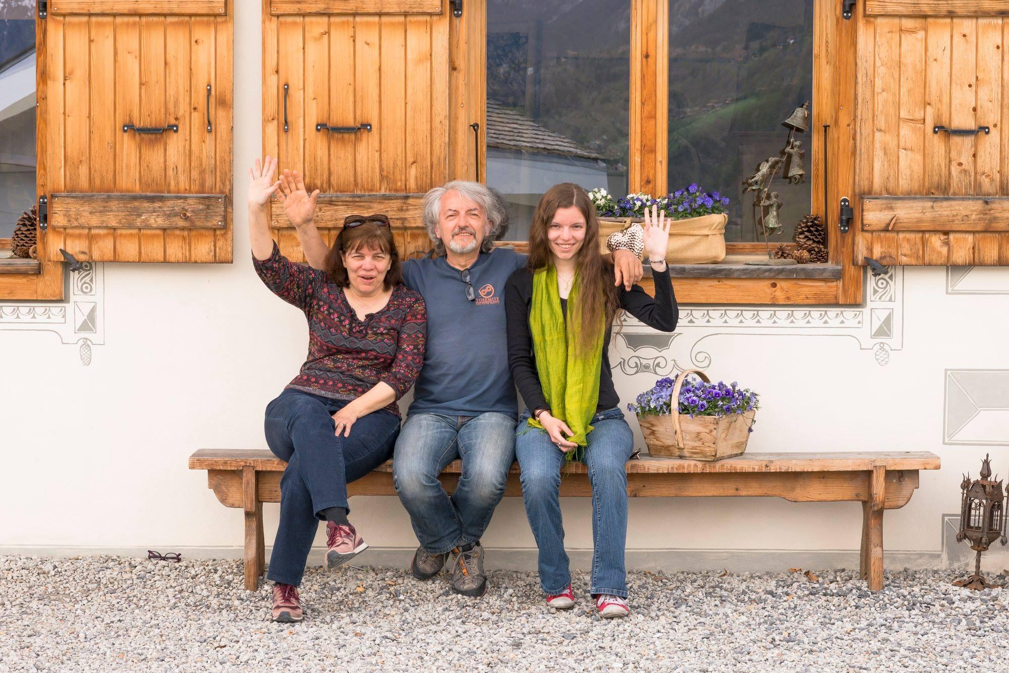 Pascal, Pascal, and Colleen Amblard