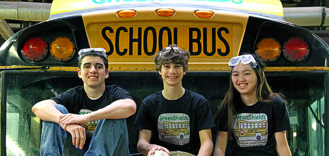 At age 14, Ashoka Youth Venturer Jonny launched GreenShields to increase the gas mileage of school buses across the nation as a way to save money for schools and reduce carbon emissions. Jonny conceived GreenShields as add-ons to the traditional boxy, highly non-aerodynamic school bus. The GreenShields are now on a growing number of school buses. The improved gas mileage saves schools $600 per bus per year—and the savings will increase sharply as larger orders cut fabrication costs.