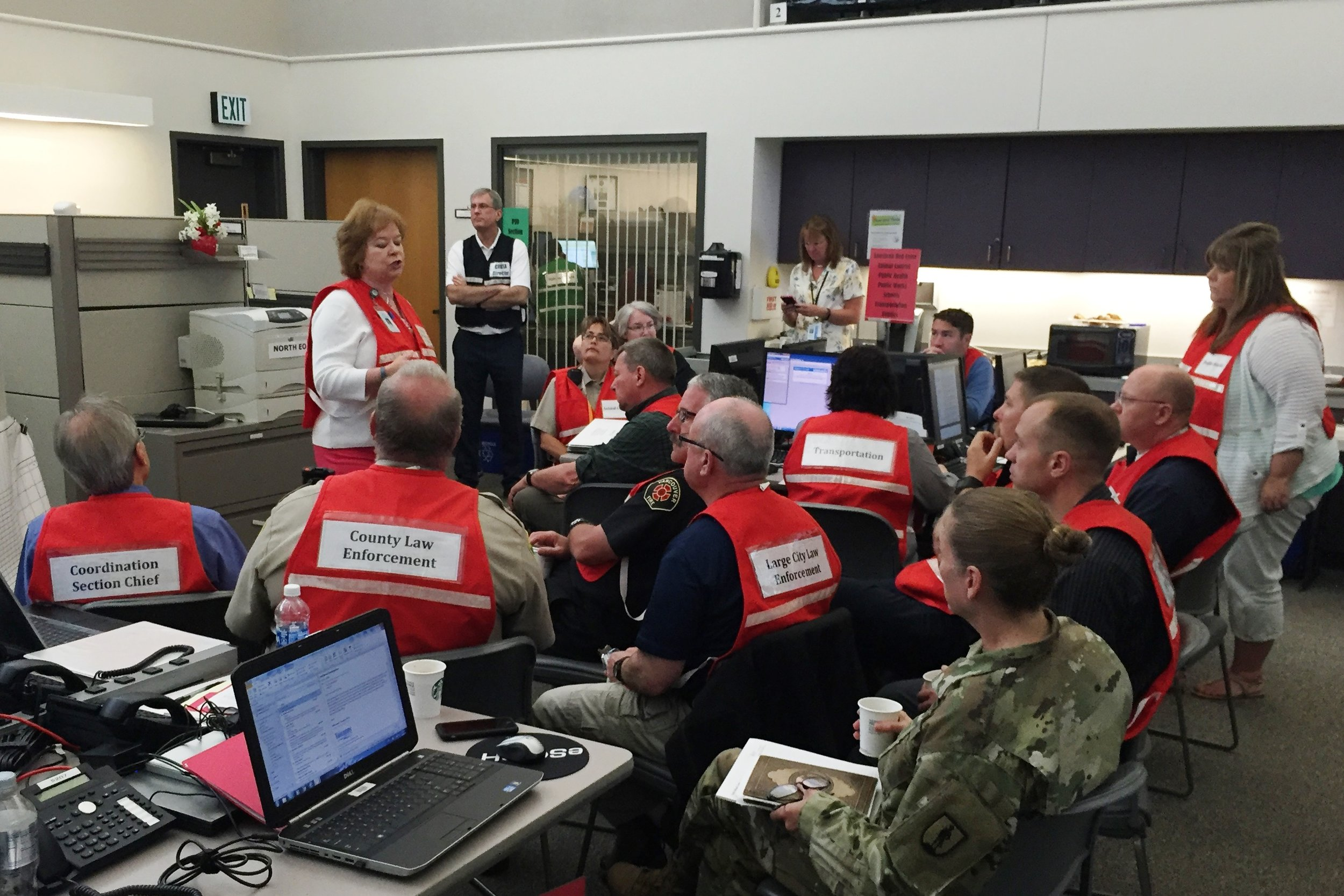 Clark County Emergency Coordination Center