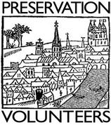 Preservation Volunteers Logo