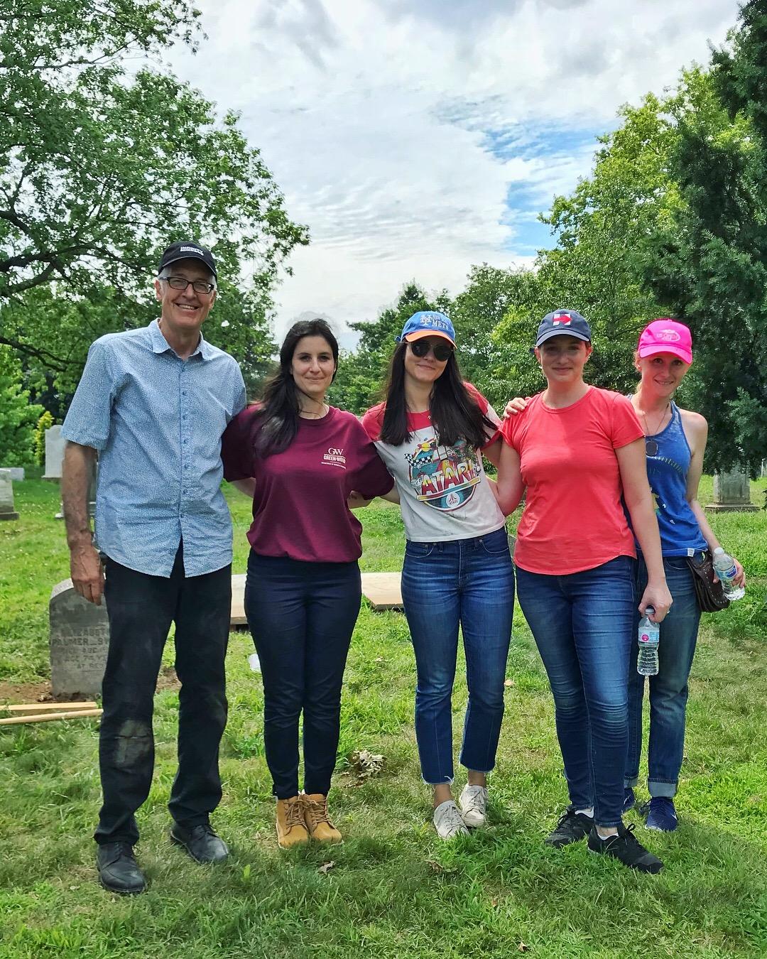 PV and VDB Team-Green-Wood-Preservation Volunteers-2018.jpg