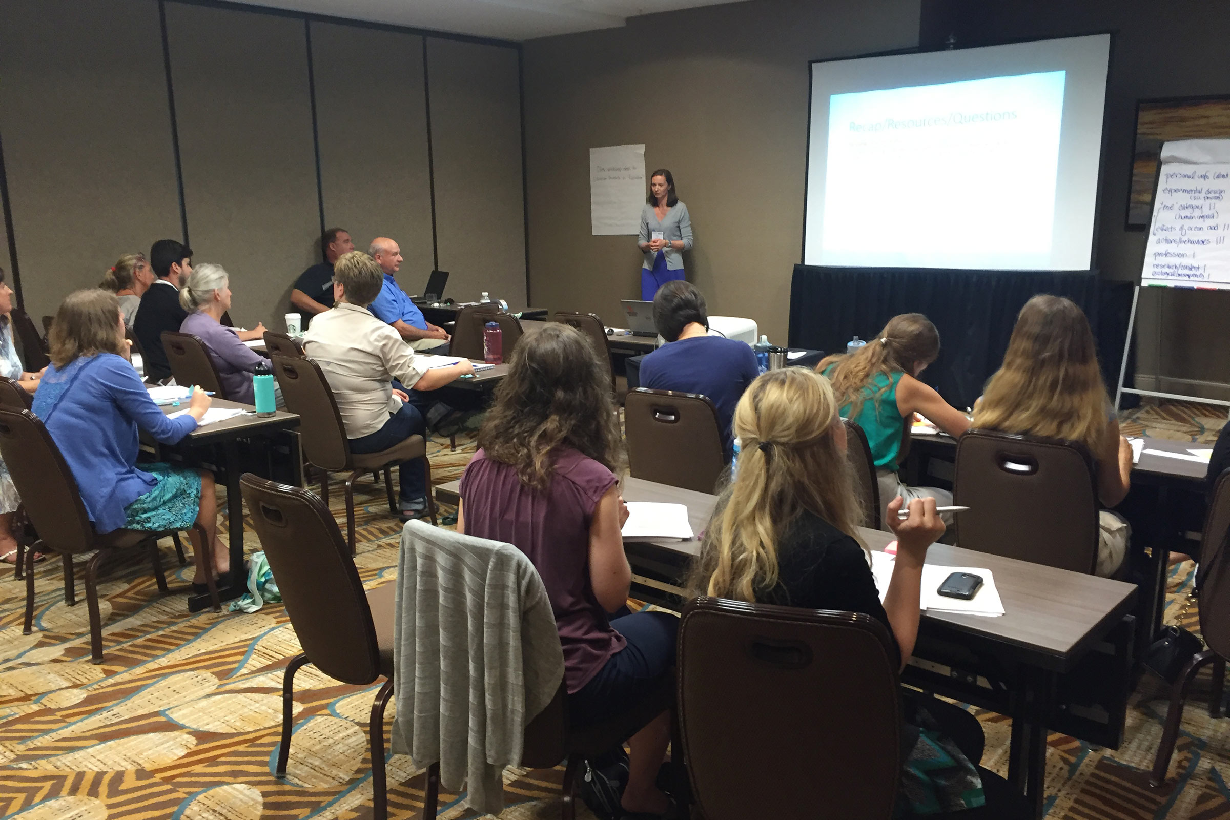 Education Research and Evaluation workshop at the NMEA 2016 conference in Orlando