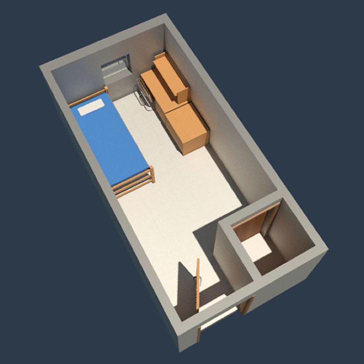 Fairchild Hall - Single Room