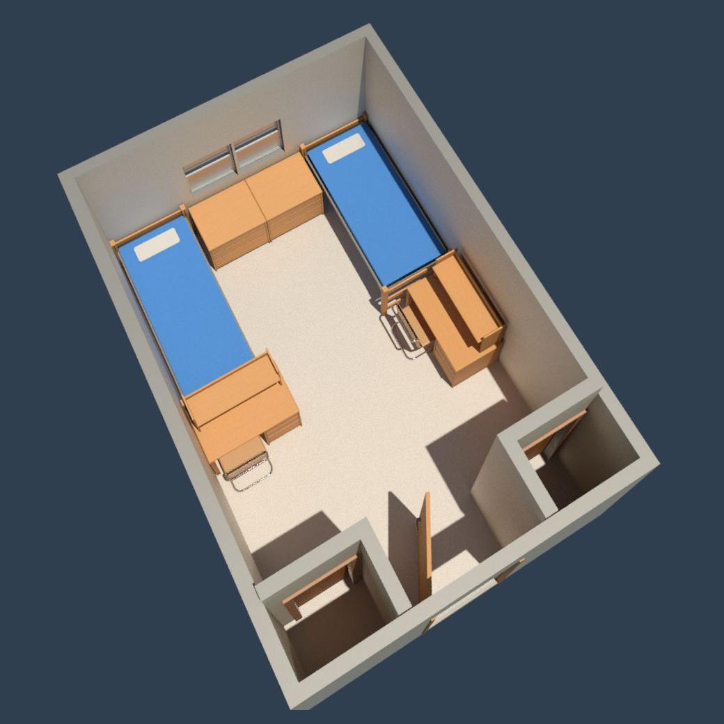 Fairchild Hall - Double Room