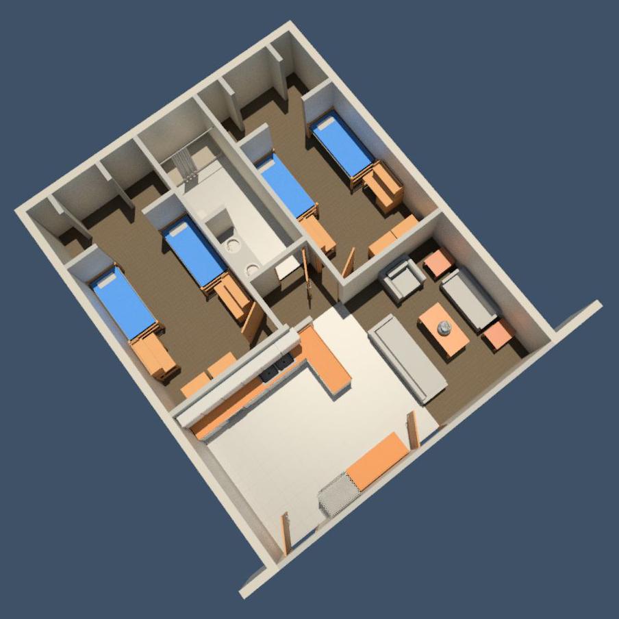 Woodside Apartments - Floorplan