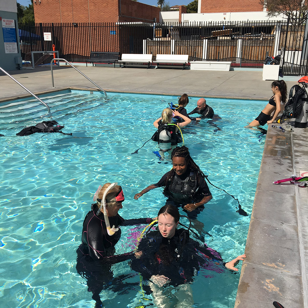 Diving Enrichment Educational Program SCUBA Class