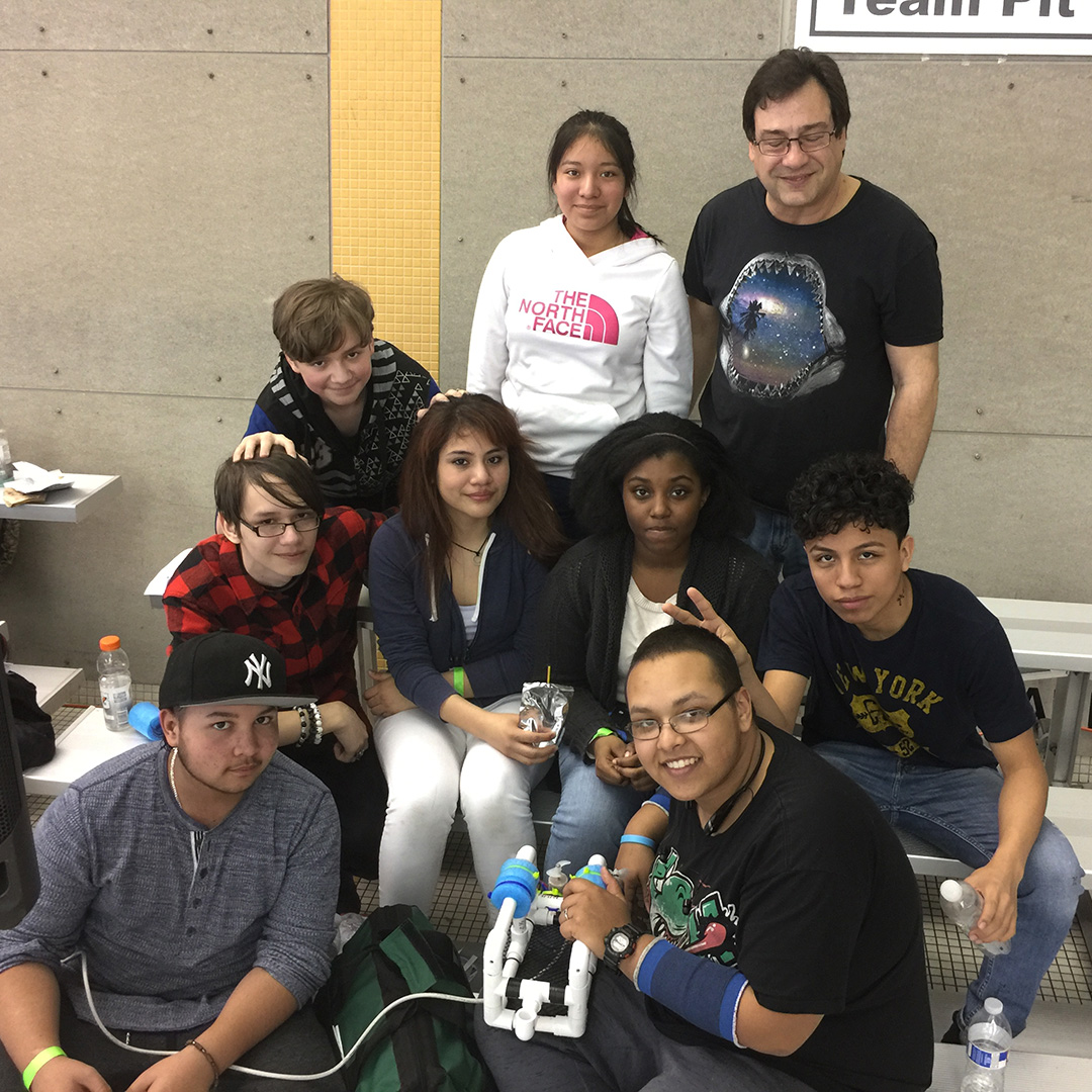 Underwater Robotics Competition at Flushing Meadows Aquatic Center, 2016. Thank you Connie Hamilton, Principal - John Dewey High School for supporting our team!