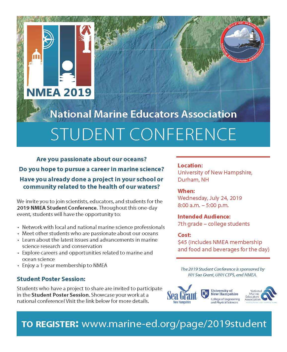 NMEA 2019 Conference - Student Conference — National Marine