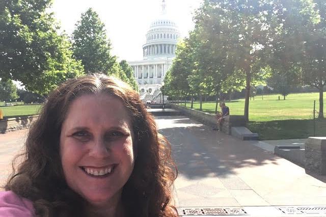 Meghan Marrero at Capitol Hill Ocean Week 2019