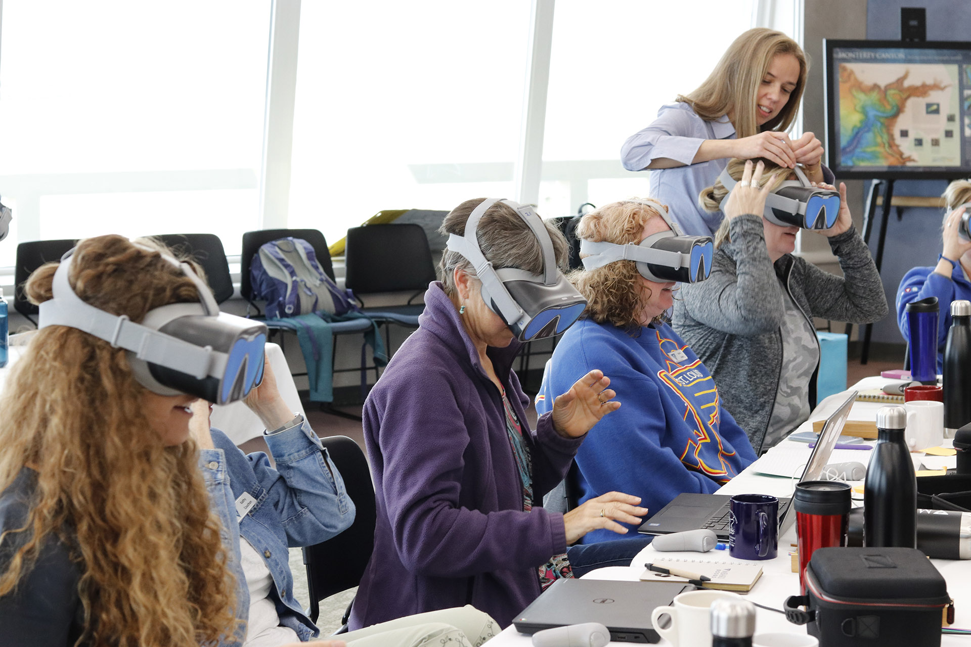 Educators go on a virtual dive with  The Hydrous presents: IMMERSE