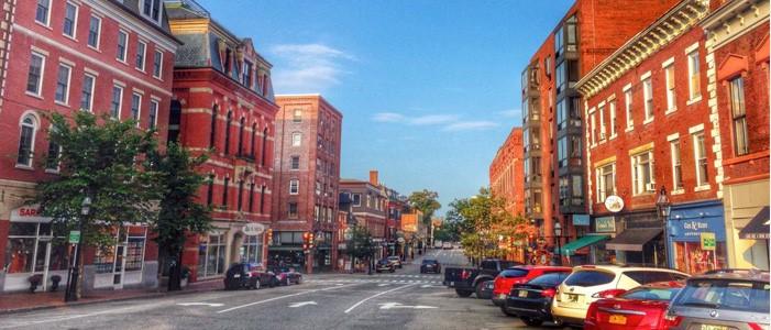Downtown Portsmouth, Source: UNH.edu