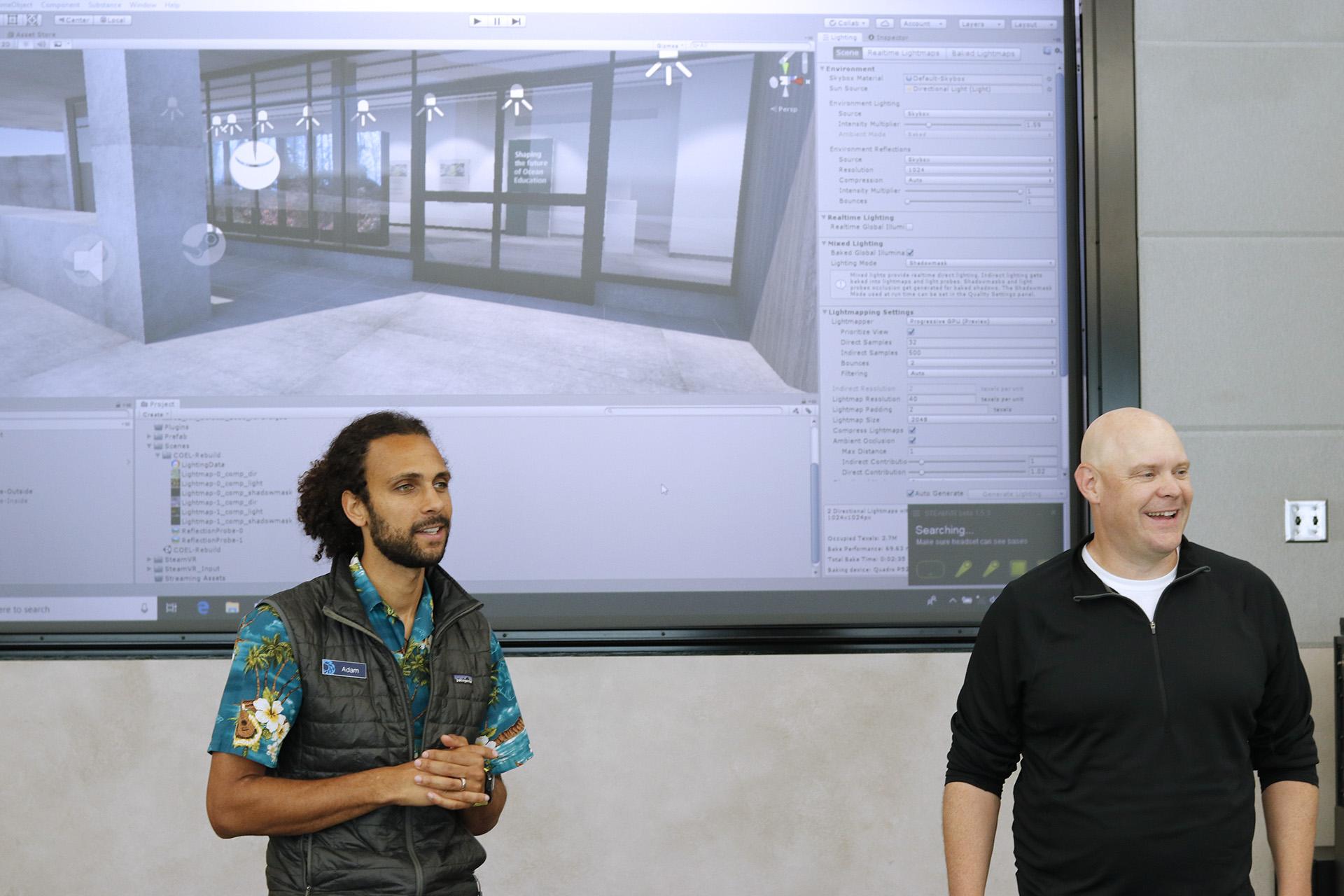 Adam Merry and Craig Mink discuss 3D visualization software applications