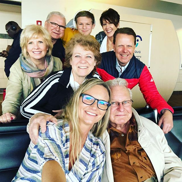 Taking Gpa Odie to a slot tourney in Vegas for his 90th!  Follow my insta story @shannonhoverson to follow the adventure!  He wants to go ziplining! 😃