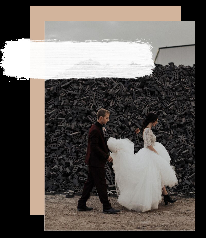 bride ballgown North Dakota wedding Maggie Sottero
