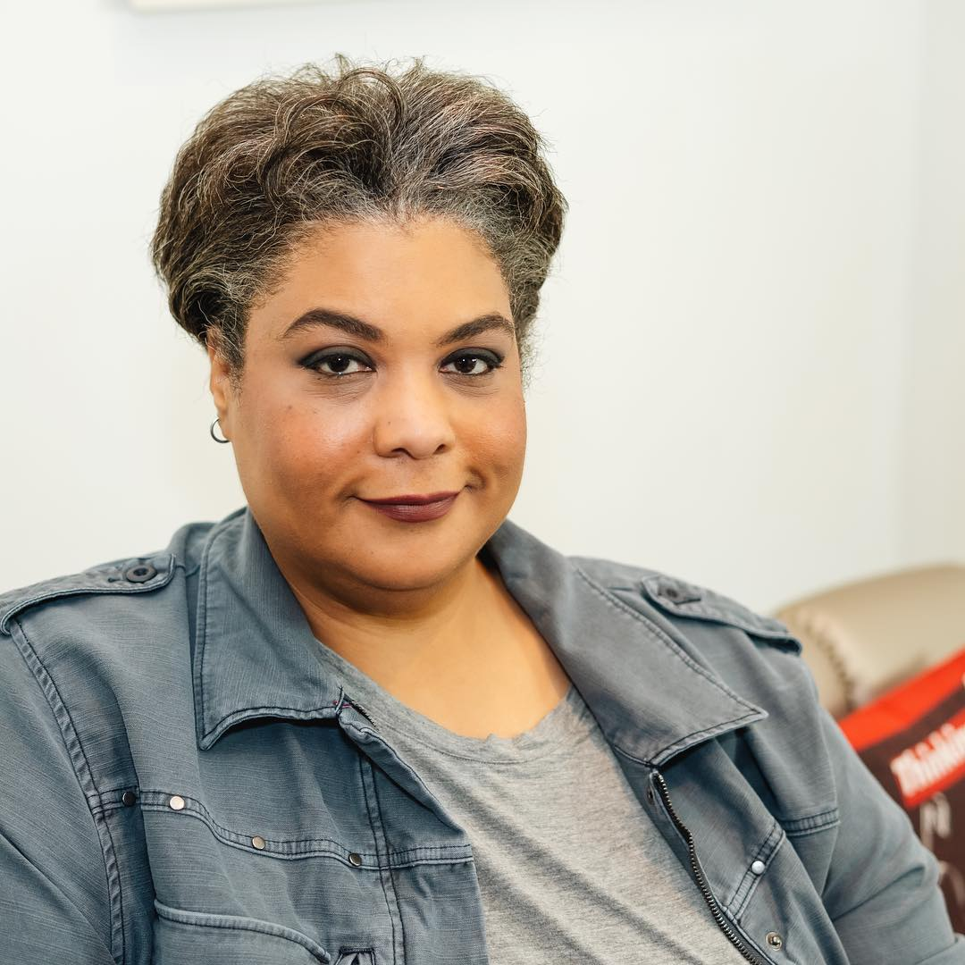 When you can't find someone to follow, you have to find a way to lead by example. - Roxane Gay