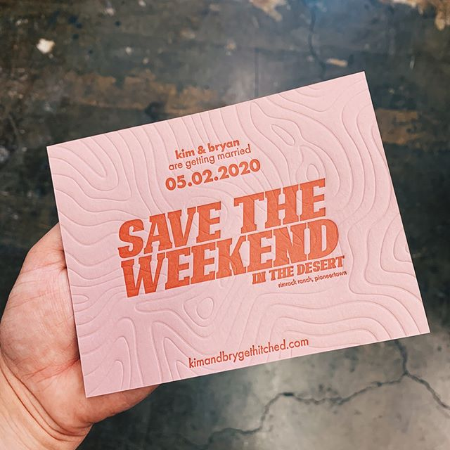 Check out these blind + 1 color letterpress save the dates we printed on @mohawkpaper Old Rose 🌹 LOVE how that blind turned out!⠀⠀⠀⠀⠀⠀⠀⠀⠀ .⠀⠀⠀⠀⠀⠀⠀⠀⠀ .⠀⠀⠀⠀⠀⠀⠀⠀⠀ .⠀⠀⠀⠀⠀⠀⠀⠀⠀ .⠀⠀⠀⠀⠀⠀⠀⠀⠀ .⠀⠀⠀⠀⠀⠀⠀⠀⠀ .⠀⠀⠀⠀⠀⠀⠀⠀⠀ .⠀⠀⠀⠀⠀⠀⠀⠀⠀ .⠀⠀⠀⠀⠀⠀⠀⠀⠀ #letterpress #letterpressshop #letterpressprint #savethedate #blinddeboss #blindletterpress #blindimpression #blindprint #savetheweekend #stationery #stationerylove #stationerytrends #stationeryaddict #blush #pink