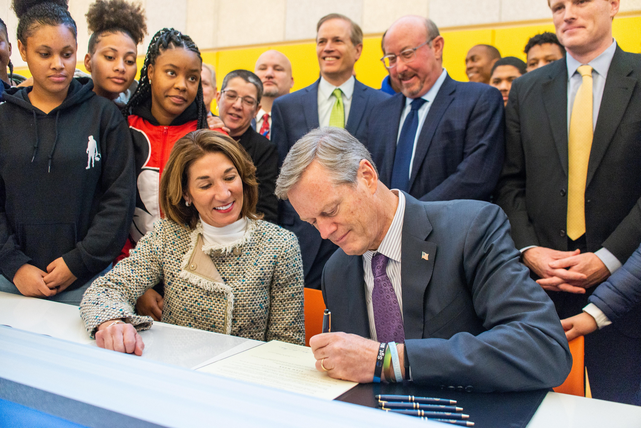 """""""Introducing more students to the possibilities STEM offers is critical to the future of the Commonwealth, and ensuring all students have opportunities to study STEM is a priority in our Administration.""""  -  Governor Charlie Baker"""