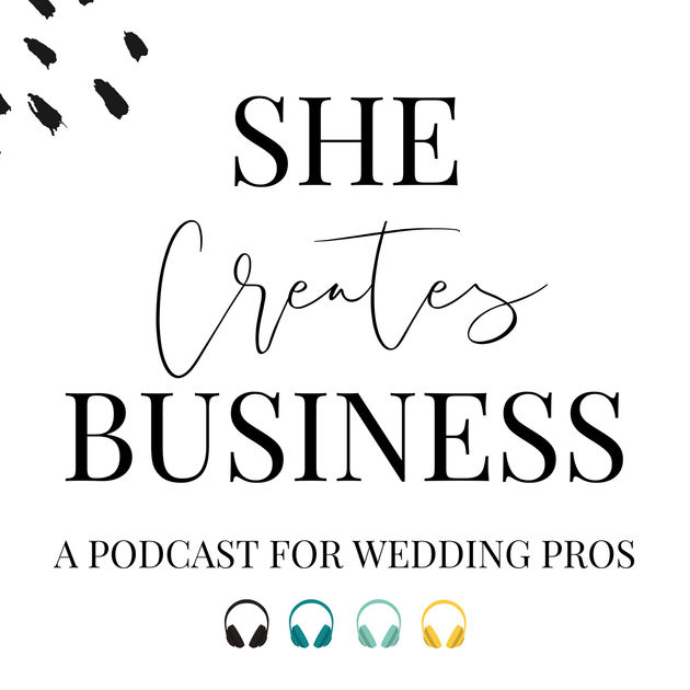 Podcast link : Listen to personal stories, business-building strategies, marketing tips, how to use social media in your wedding business & more. From wedding planners to florists, from venue owners to calligraphers and beyond, no topic is off limits. Join us for community and conversation!