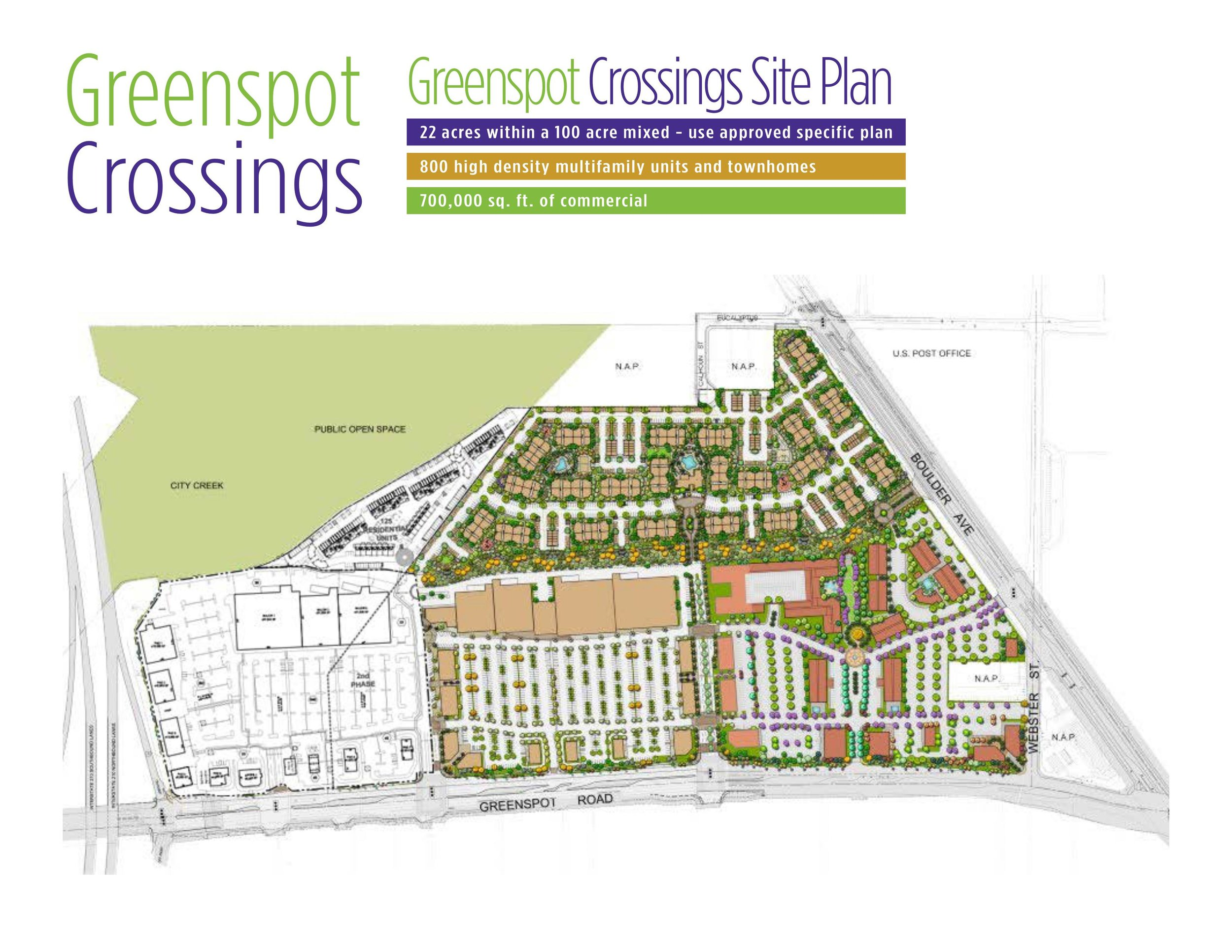Highland, CA - Interstate 210 & Greenspot Rd.Mixed-Use Development Available
