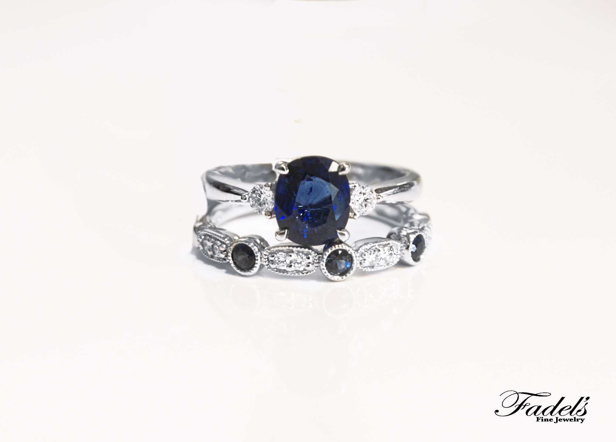 Blue Sapphire dia ring on top of Sapphire and Dia Band.JPG