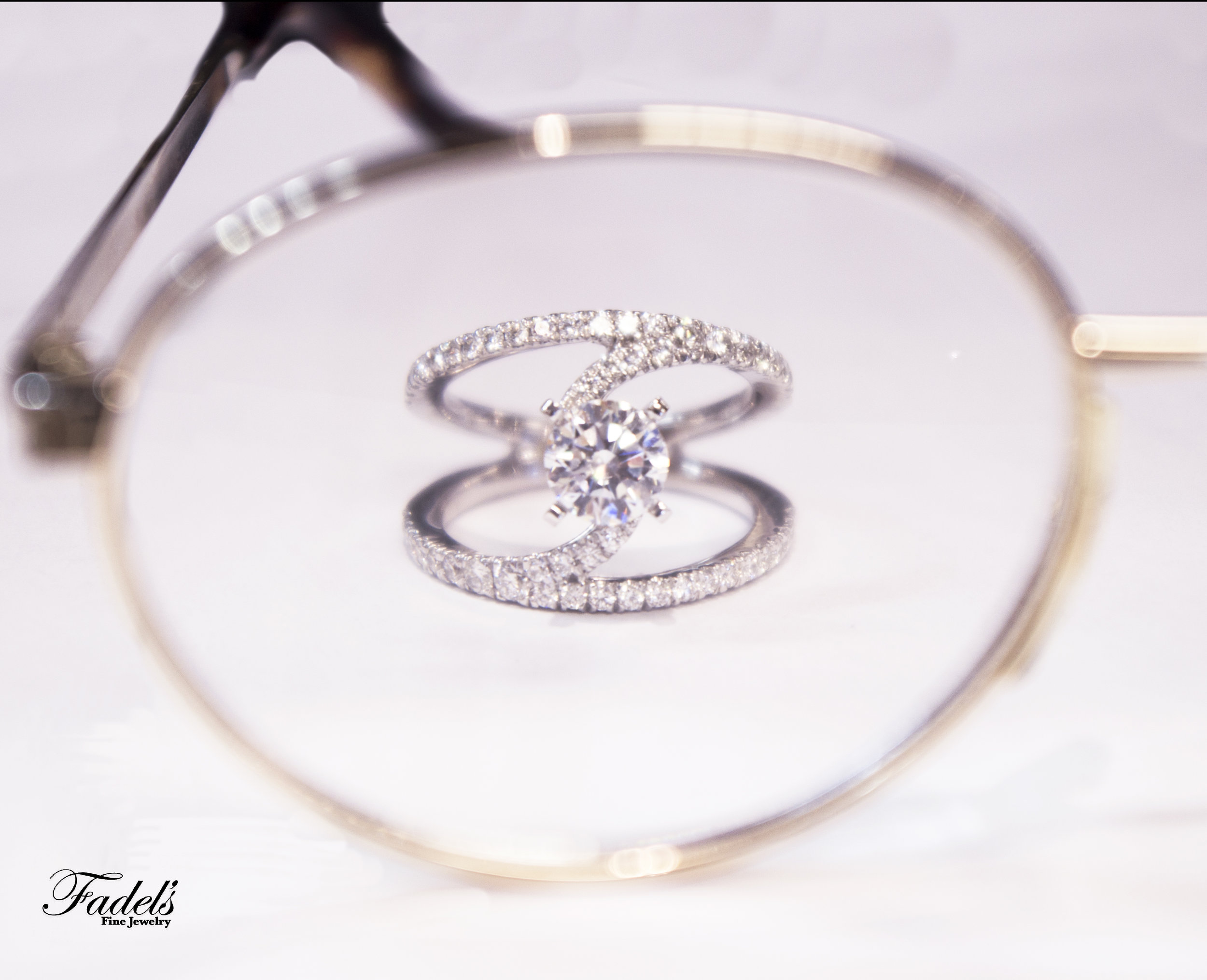 Twist ring with diamonds, Righthand ring in 14kt white gold.JPG