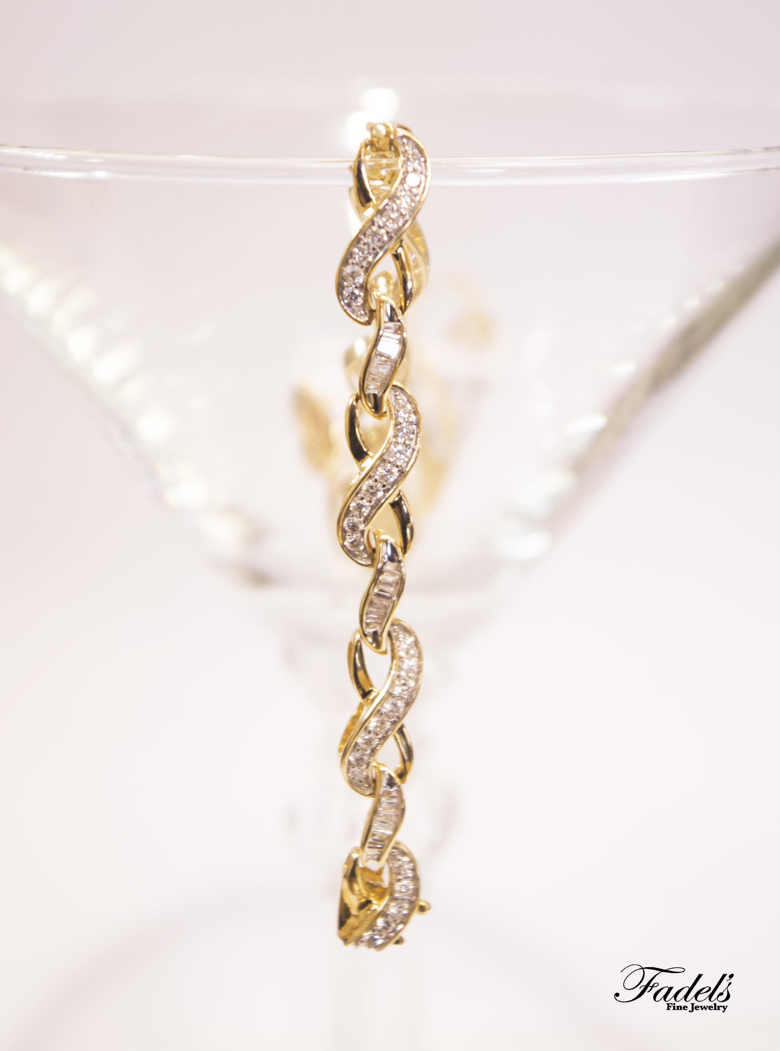Yellow gold Diamond Bracelet.JPG
