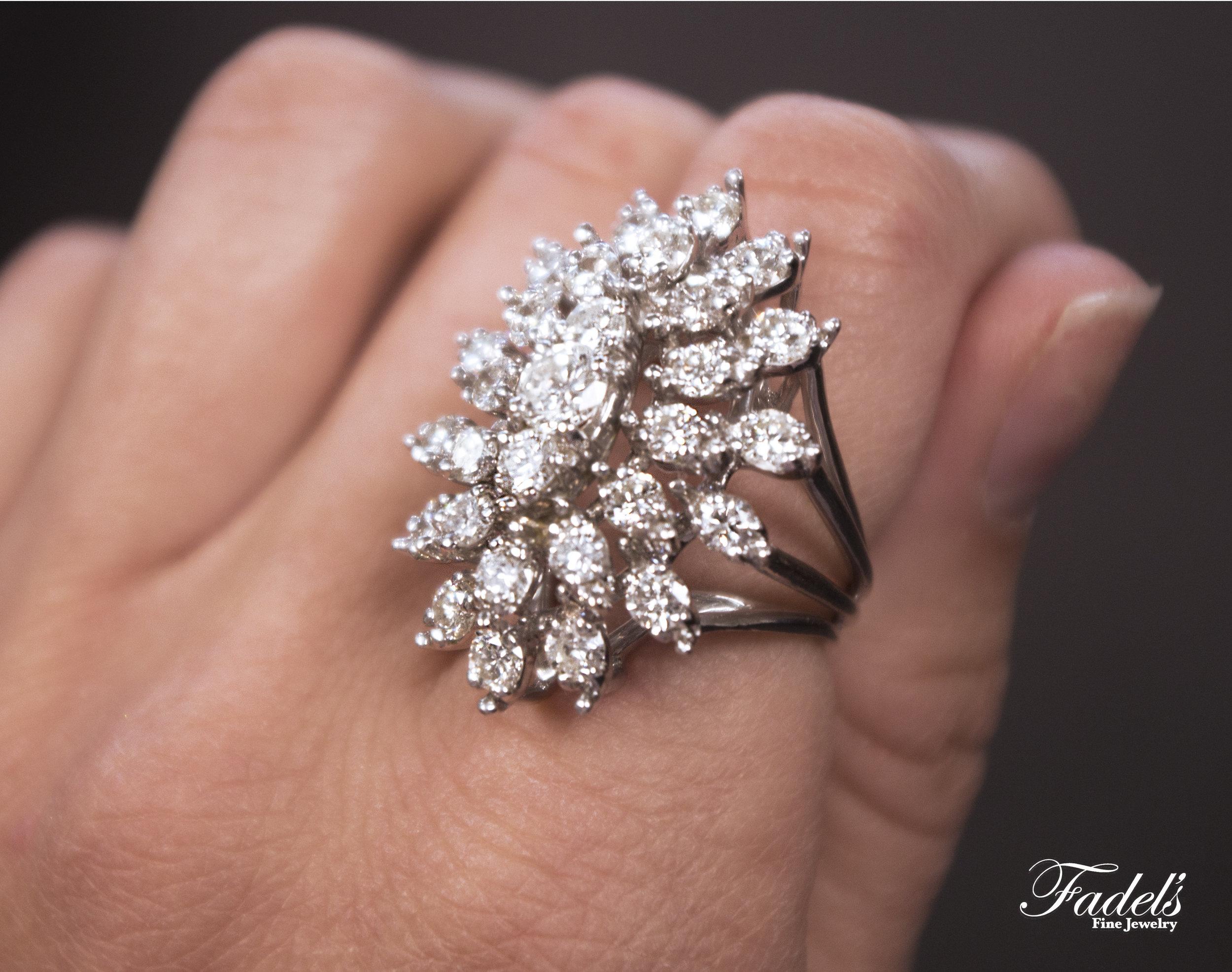 Wide 14KW Gold Diamond Ring.JPG