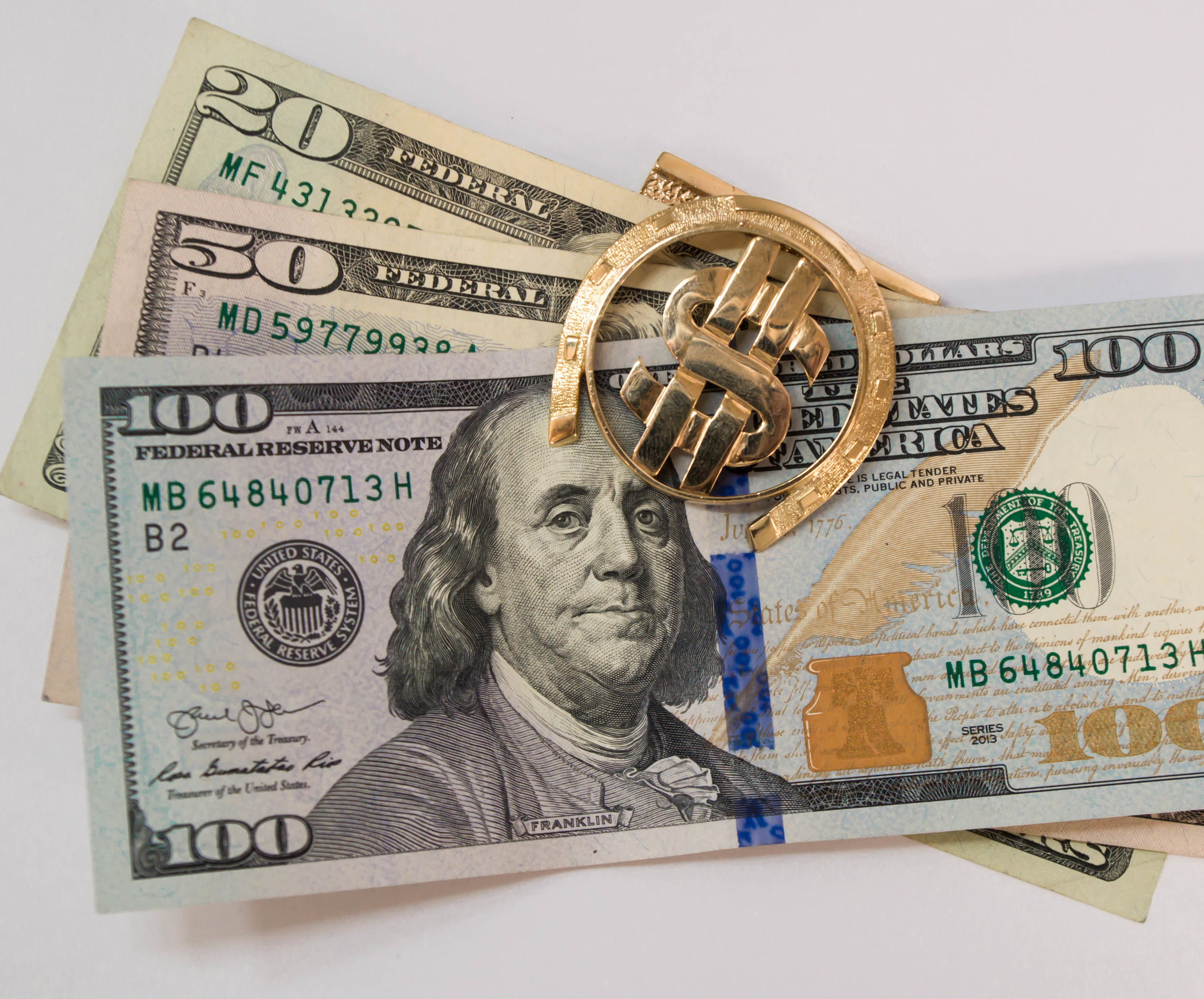 Money clip gold dollar sign.JPG