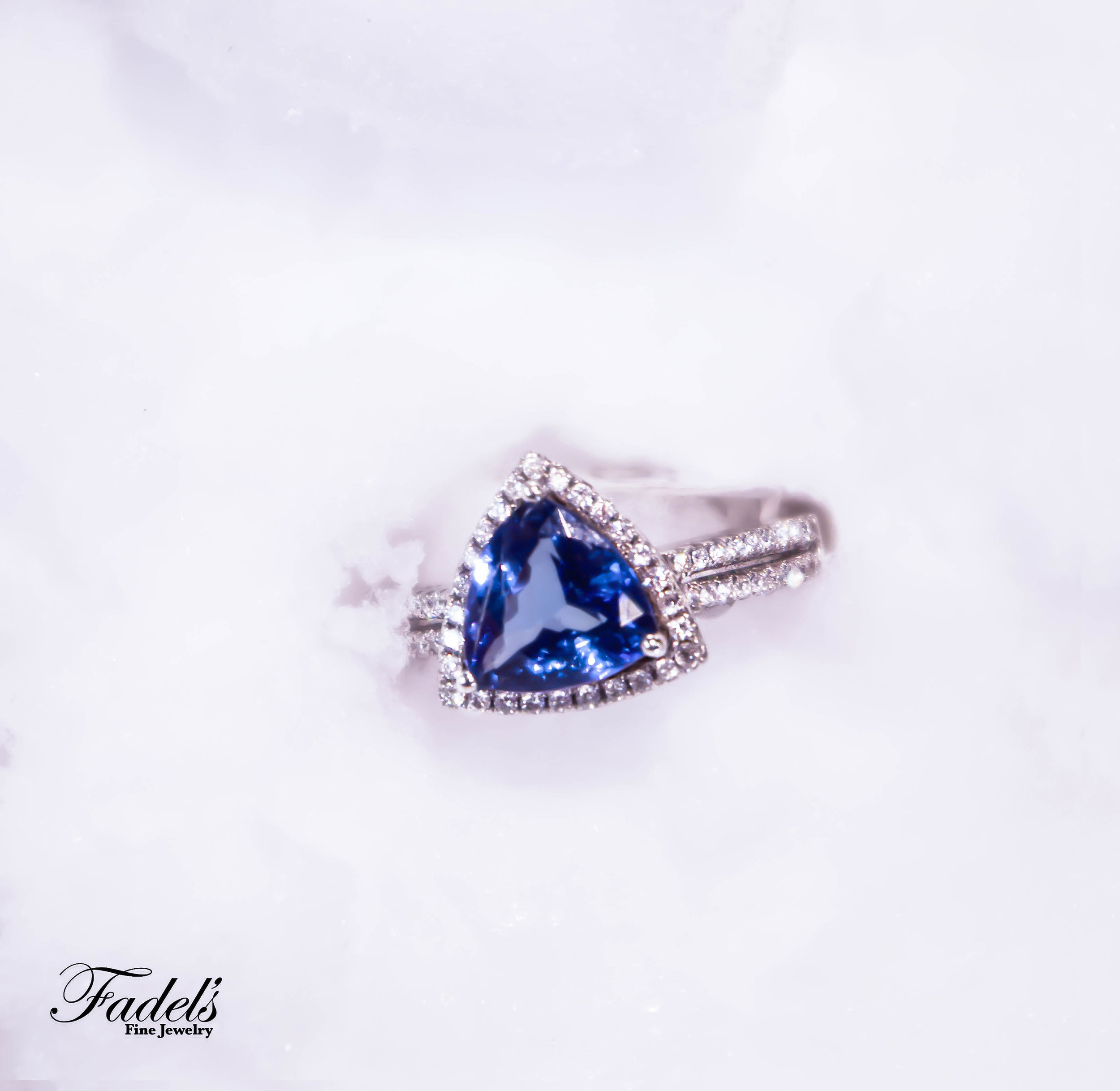 Right Hand Ring 14KW with diamonds and triangle blue tanzinite.JPG
