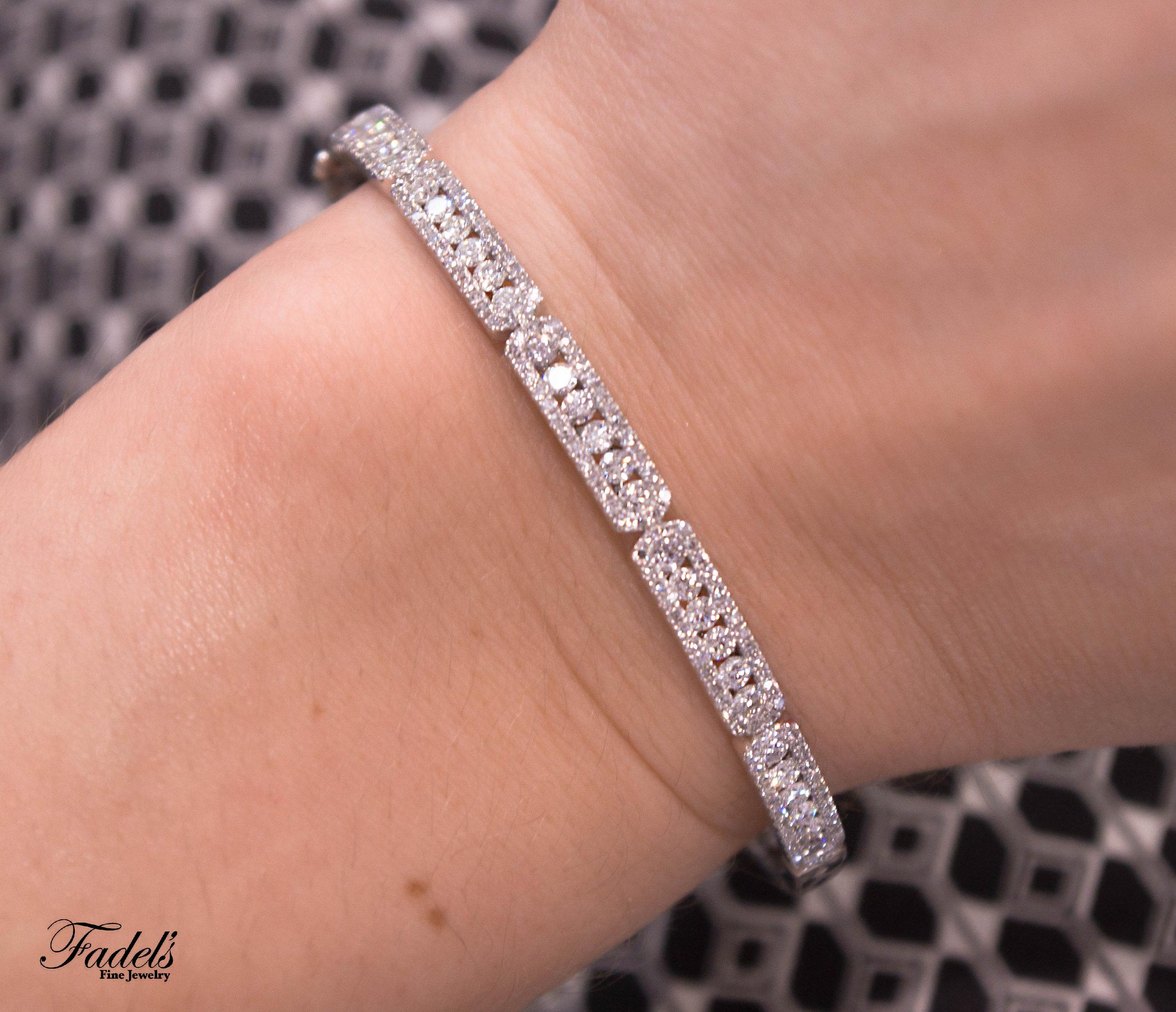 Bracelet 14KW Daimond Bangle.JPG