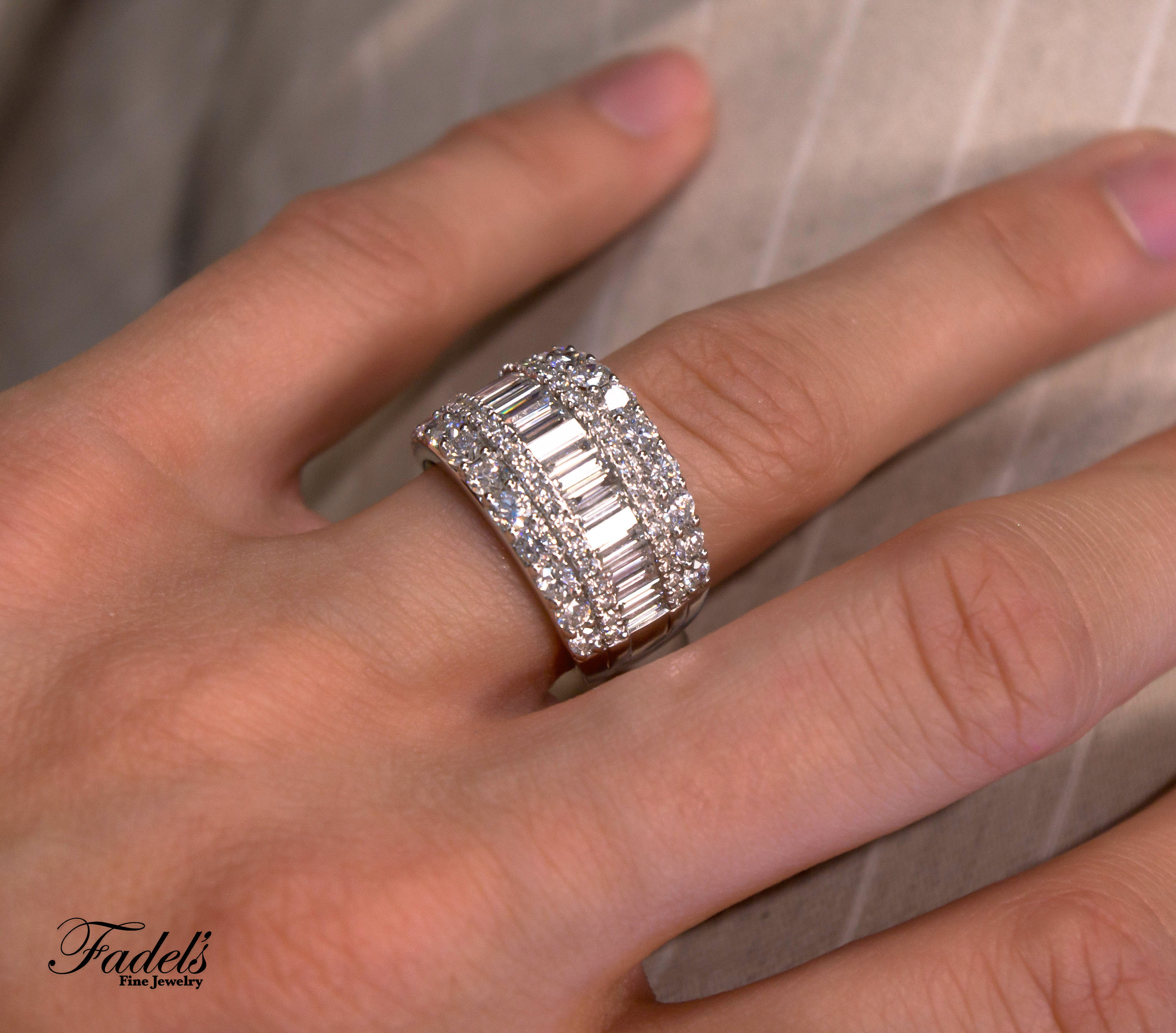 Right Hand Ring 18KW Diamond Band.JPG