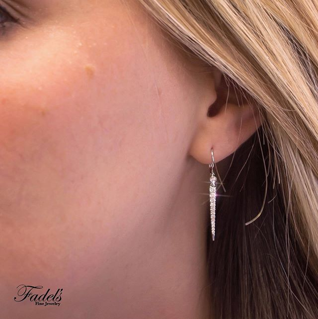 Jewelry is an accessory to fashion. 💎Even the smallest pieces go a long way in adding flair and fun to every outfit! . .  #GabrielCoRetailer #GabrielNY #GabrielAndCo #Fadels #FashionEarrings #DropEarrings #FineJewelry #WhiteGold #Diamonds #DiamondEarrings #Earrings #GiftForHer #Chic #EarCandy #FashionEarrings #JewelryLover #JewelleryLove #DiamondLover #DiamondLove