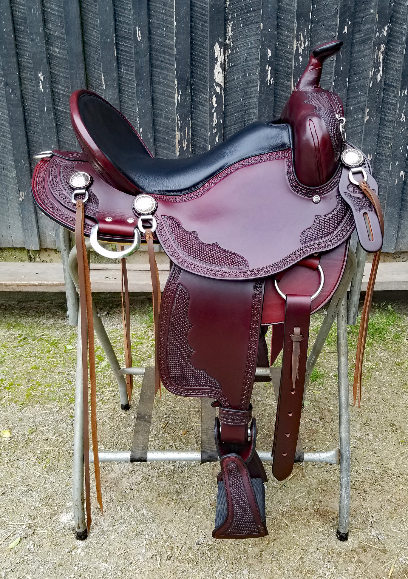 The finest saddles handcrafted by the legend, Eli Miller — Horse Of