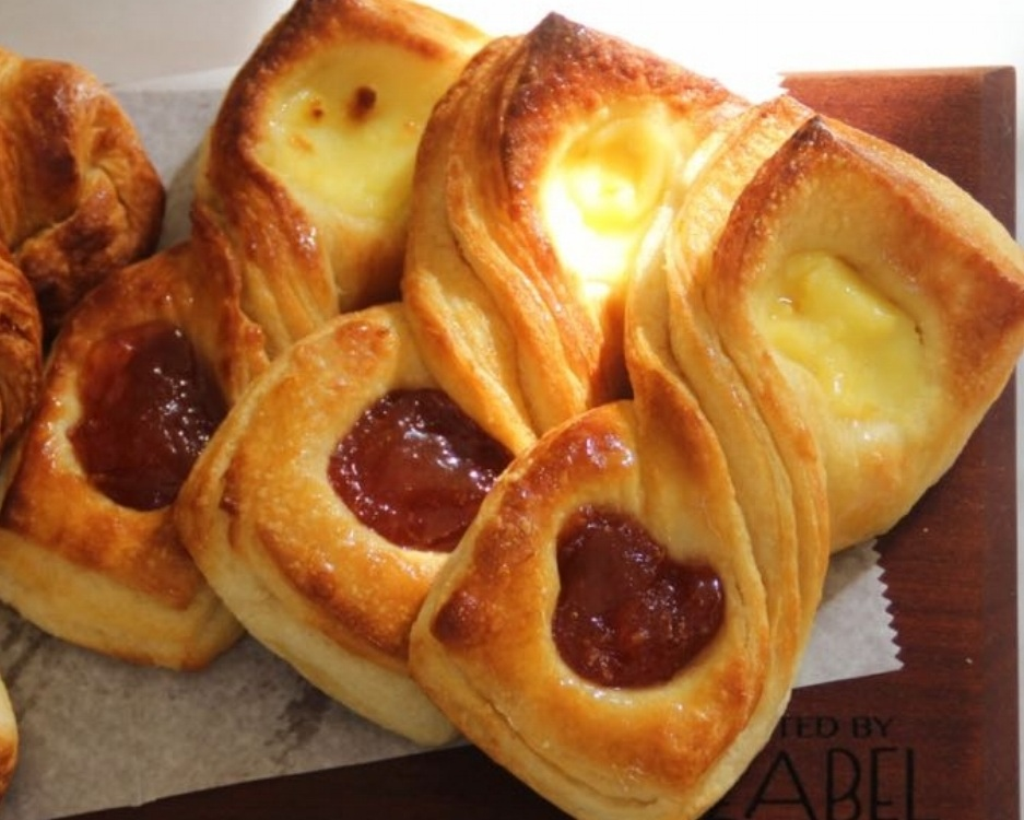 QUINCE AND EGG CUSTARD DANISH
