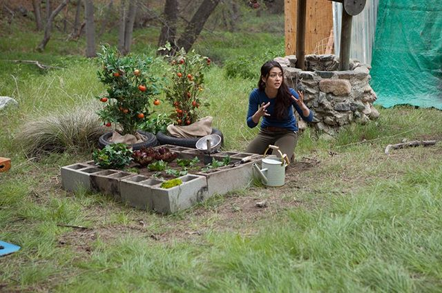 'Anna' working her green thumb in 'What Still Remains' out now on VOD! Check us out on @amazon where we're trending!! @LuluAntariksa #WSR #gardeninggoals #greenthumb #whatstillremains #thrillerfilm #ordernow