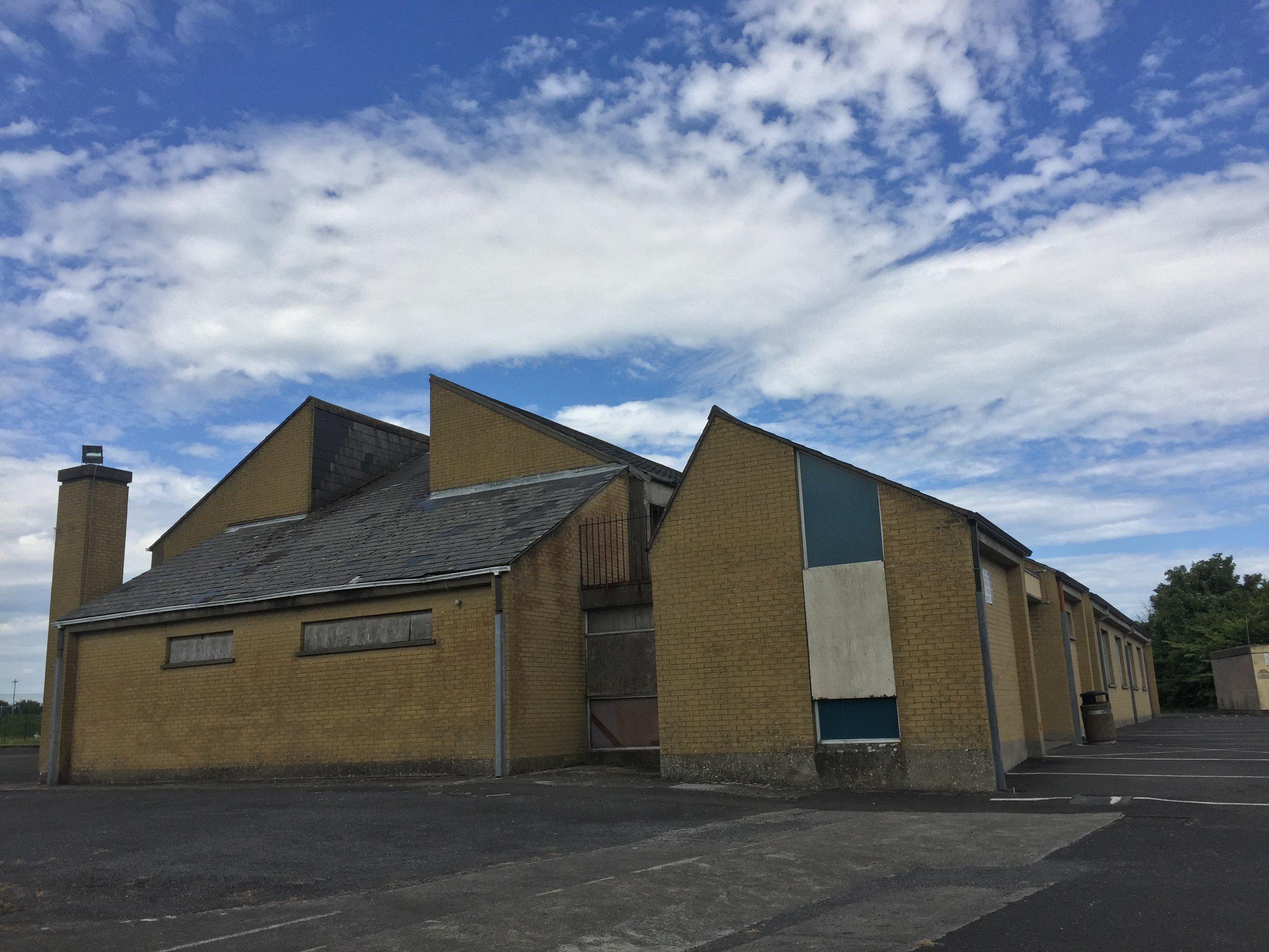 Old buildings at Scoil Iosa, Ballina, Co. Mayo