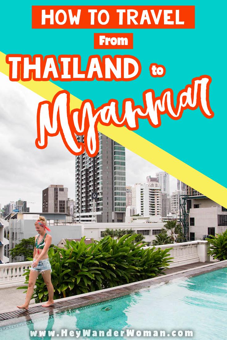 Thailand to myanmar