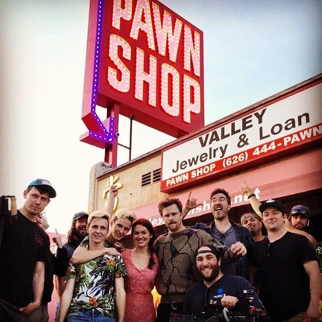 48 hour film short shot at the pawnshop.