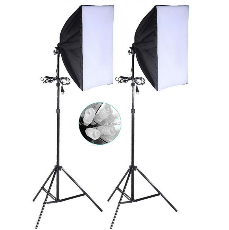 SOFTBOXES WITH 4-SOCKET HEADLIGHTS