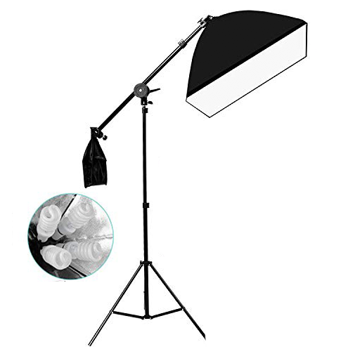 BOOM SOFTBOX WITH 4-SOCKET HEADLIGHT